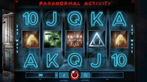 Paranormal Activity Online Slot