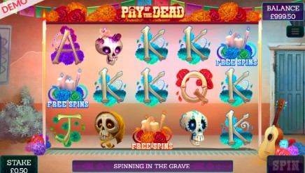 Pay Of The Dead slot UK