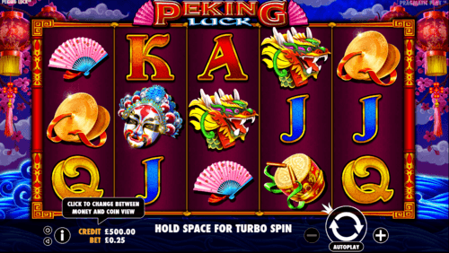 Peking Luck slot UK