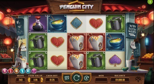 Penguin City slot UK