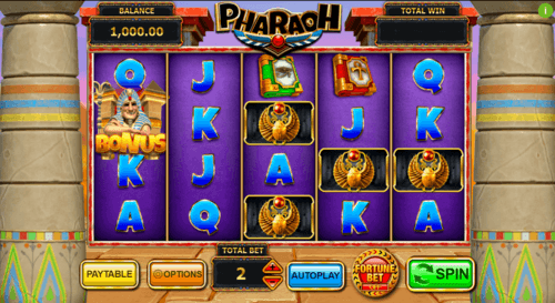 Pharaoh uk slot game
