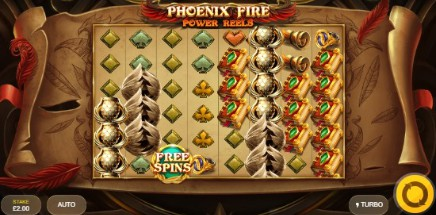 Phoenix Fire Power Reels slot UK