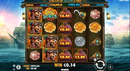 Pirate Gold Online Slots