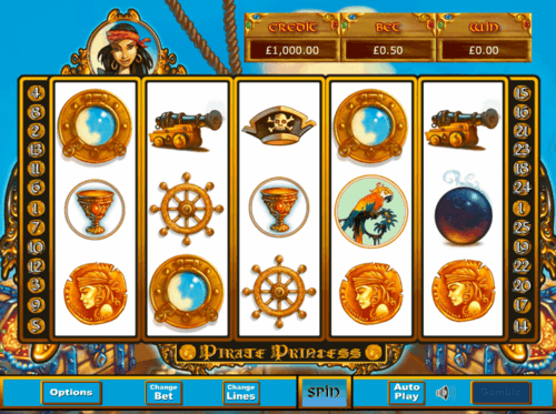 Pirate Princess slot