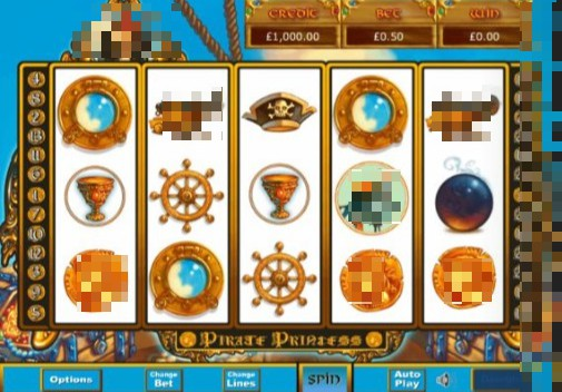 Pirate Princess Online Slot