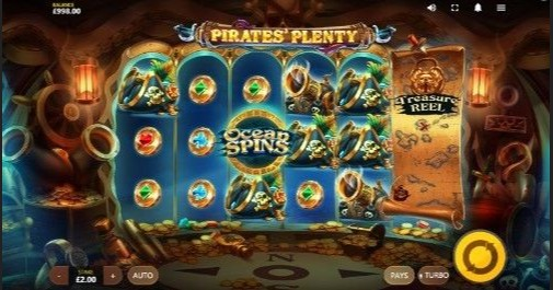 Pirates' Plenty The Sunken Treasure Online Slot