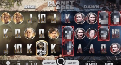 Planet of the Apes uk slot