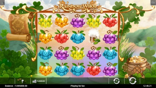 rainbow wilds slot UK
