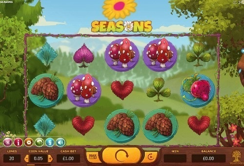 Seasons slot UK