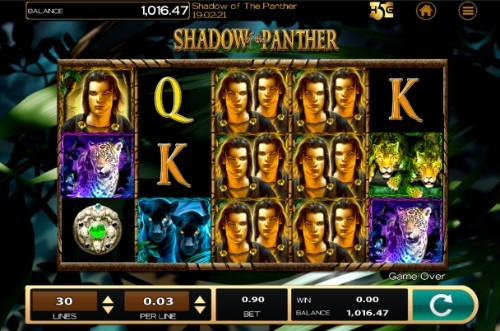 Shadow of the Panther slot UK