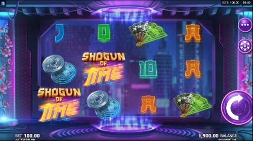 Shogun Of Time slot UK