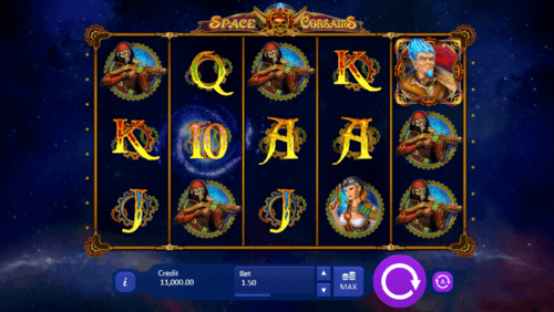 Space Corsairs slot game