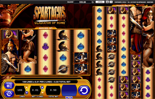 Spartacus slot UK