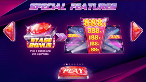 Stage 888 online slot game