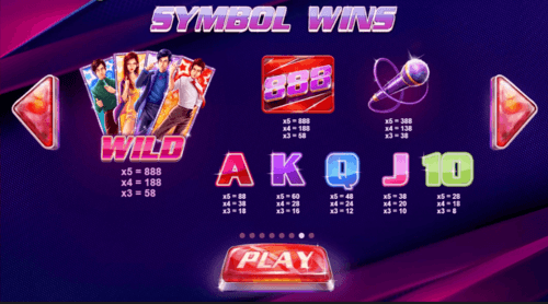 Stage 888 slot game