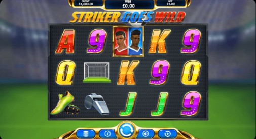 Striker Goes Wild Online Slots