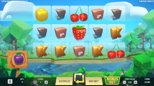 Strolling Staxx: Cubic Fruits slot UK