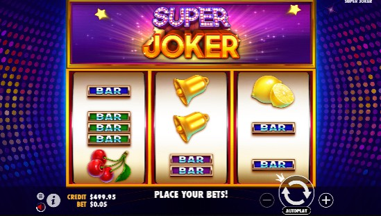 Super Joker slot UK