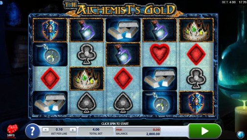 The Alchemist's Gold Online Slots