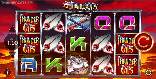 Thundercats Reels of Thundera slot UK