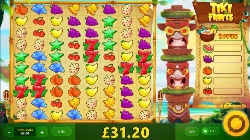 Tiki Fruits slot UK