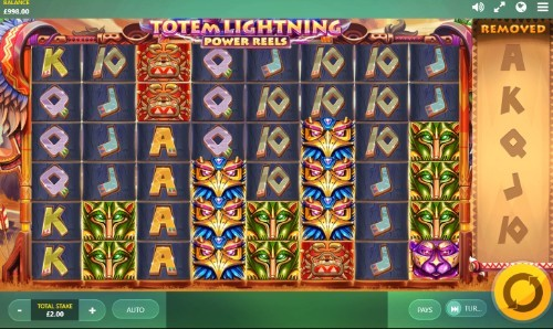 Totem Lightning Power Reels slot UK