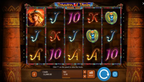 Treasures Of Tombs Online Slot