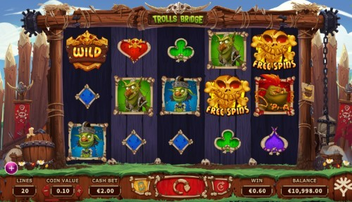 Trolls Bridge slot UK