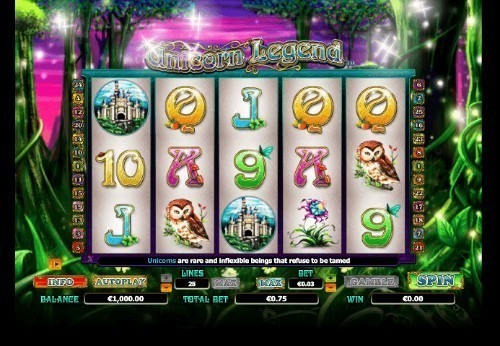 Unicorn Legend slot UK