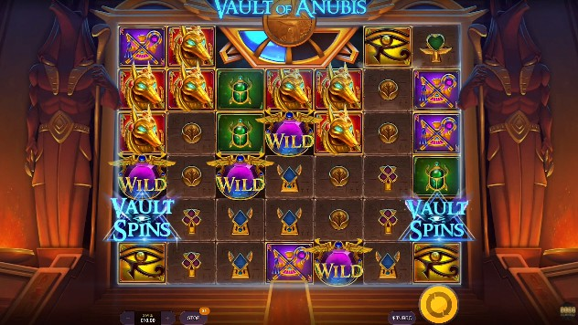 Vault of Anubis slot UK