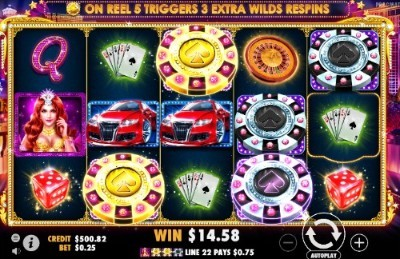 Vegas Nights slot UK