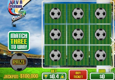 Viva Mundial Scratch Card UK
