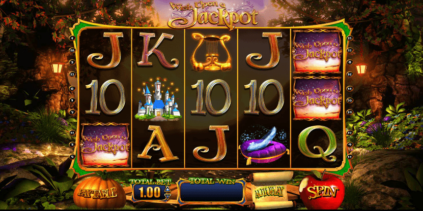 Wish Upon A Jackpot slot UK