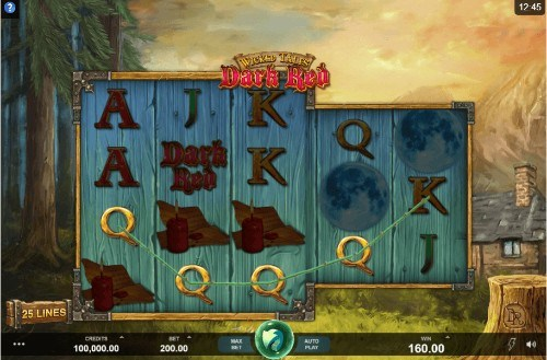 Wicked Tales: Dark Red slot UK