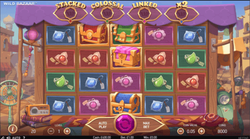 Wild Bazaar uk slot game