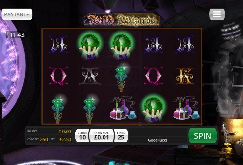 Wild Wizards slot UK