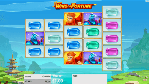 Wins of Fortune uk slot