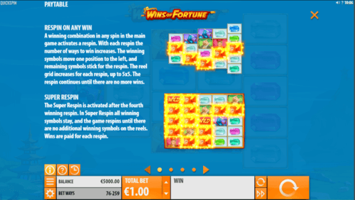 Wins of Fortune Slot 3