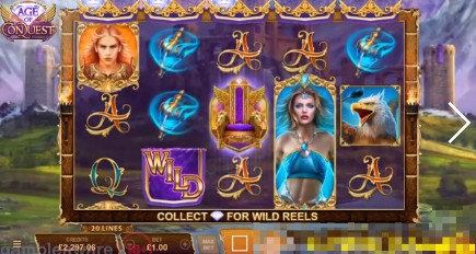 Age of Conquest slot UK
