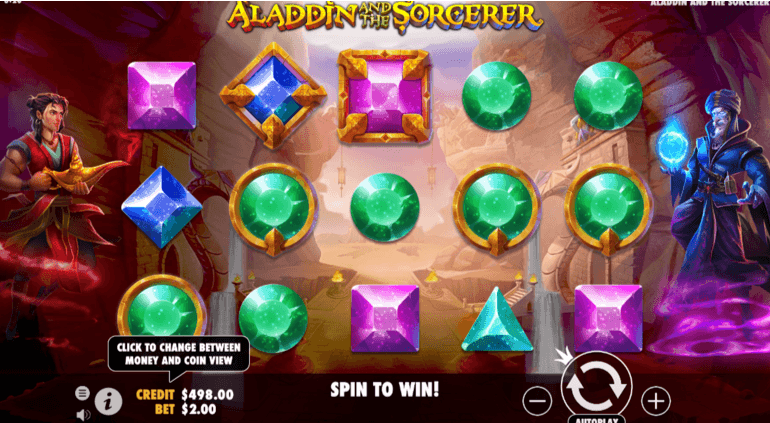 Aladdin and the Sorcerer slot UK