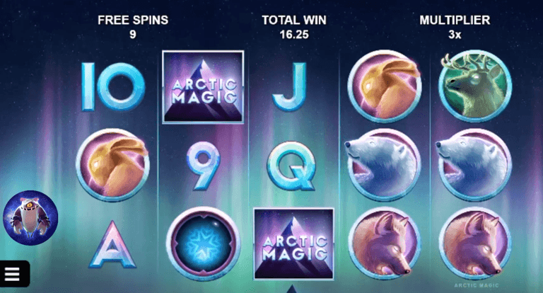 Arctic Magic slot UK