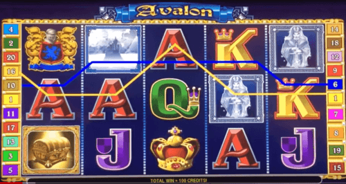 Avalon slot UK