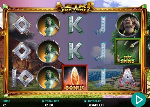 Aztar Fortunes slot UK