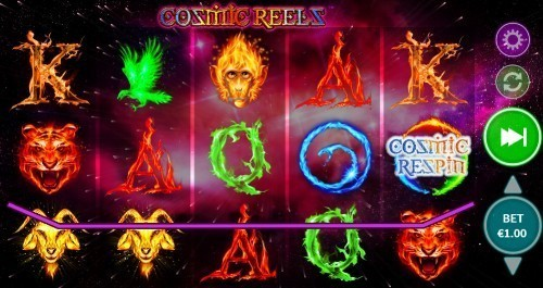 Cosmic Reels slot UK