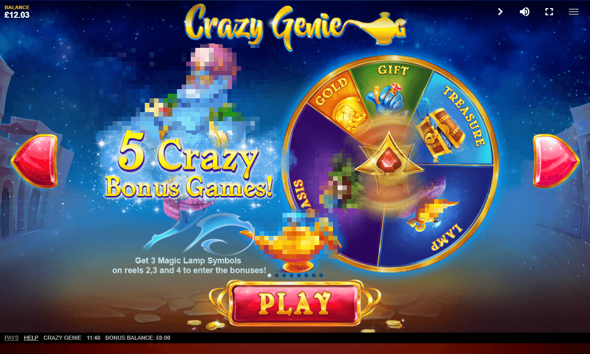 Crazy Genie Bonus Feature