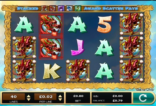 Dazzling Dragons slot UK