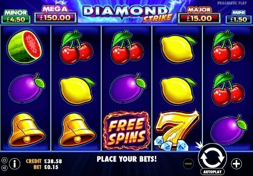 Diamond Strike slot UK