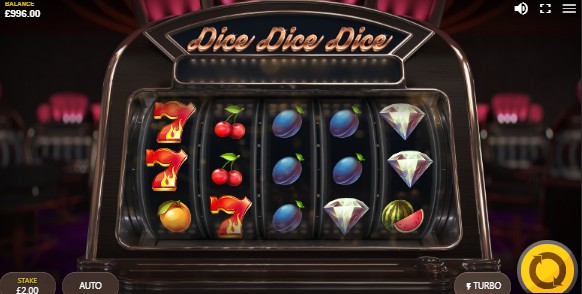 Dice Dice Dice slot UK