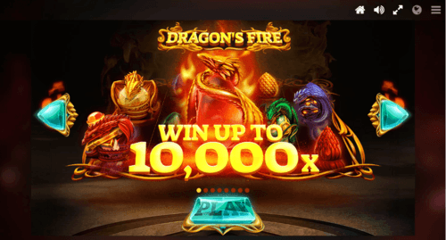 Dragons Fire online slot