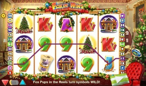 Foxin' Wins Christmas slot UK